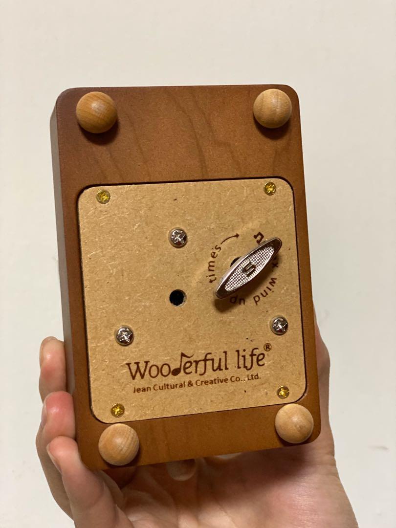 Wooden music box 摩天輪音樂鈴