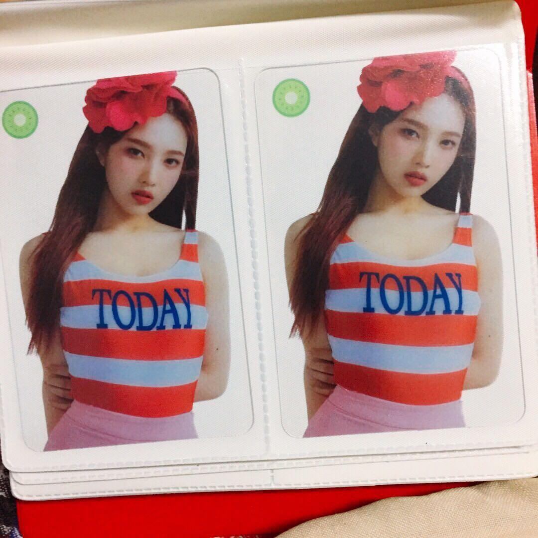 [WTT] Red Velvet Summer Magic Joy Clean ver PhotoCard