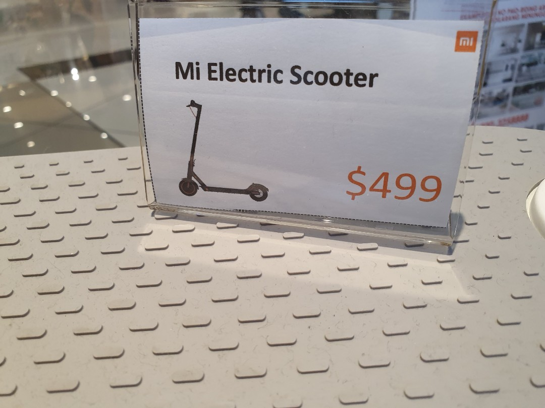 xiaomi minia electric scooter (gd condition)