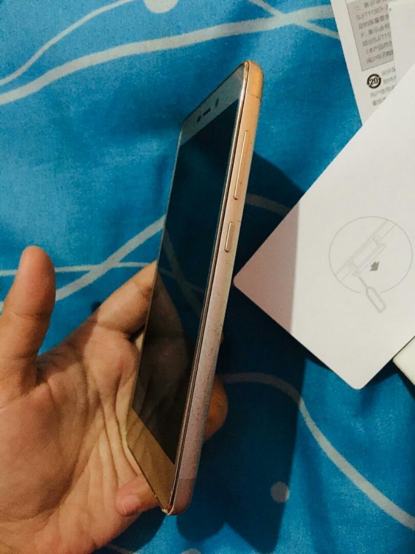 Xiaomi Redmi 3s Pro gold android