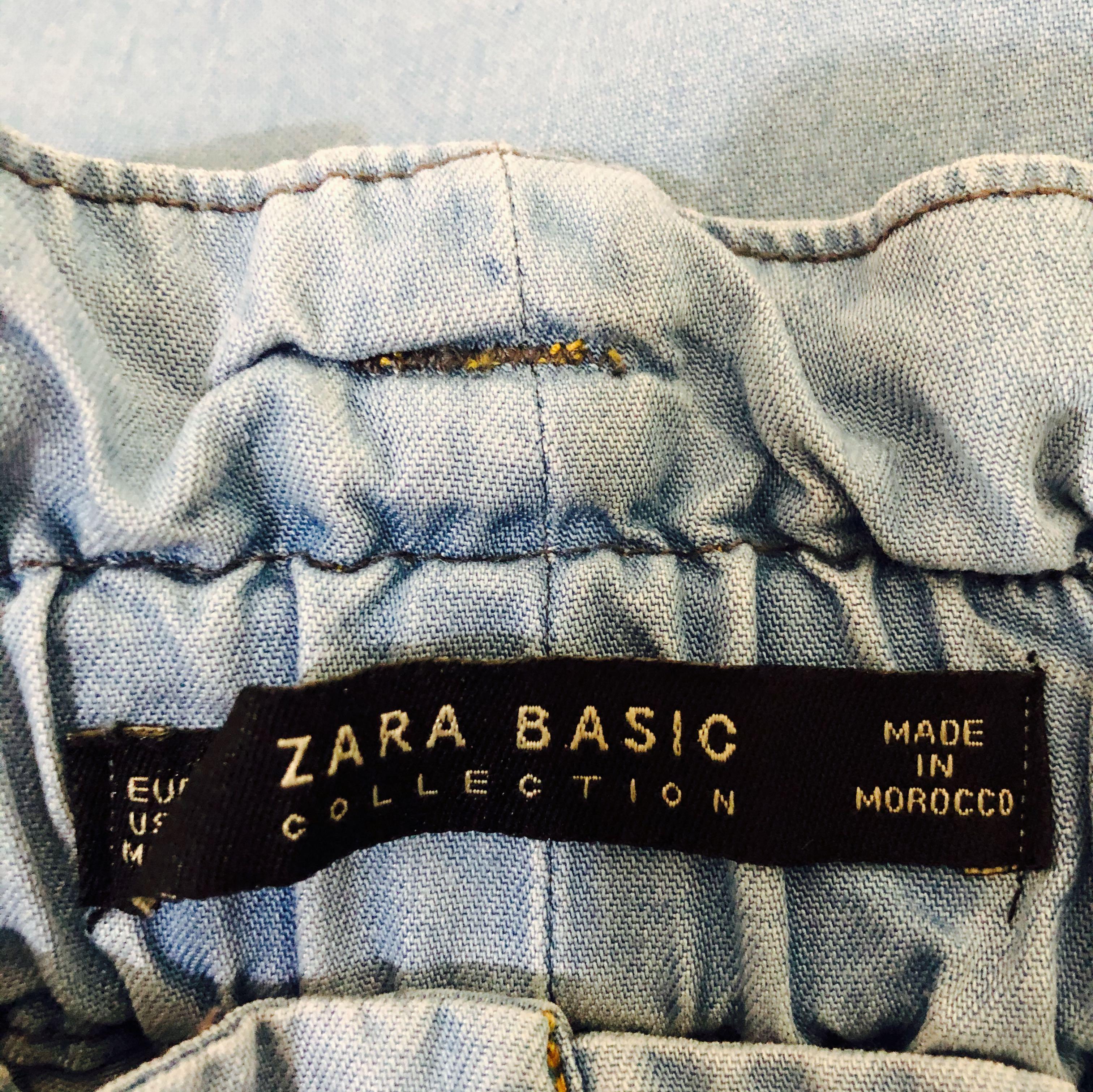 Zara Kulot Jeans ribbon