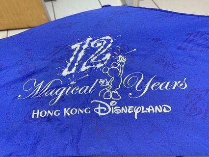香港迪士尼 12週年自動傘