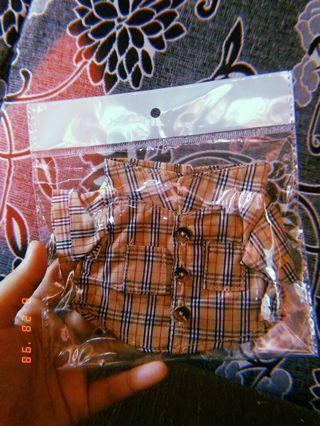 20cm doll cloth shirt