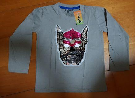 NEW - IMPORT KAOS USAP SEQUIN BOLAK BALIK - SUPERHERO