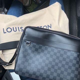 Louis Vuitton TROCADERO NM LV 郵差包 公事包