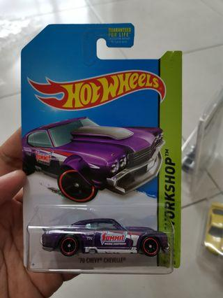 Hotwheels super chevelle STH