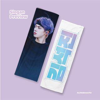 [Preorder] BTS Jin SYS the final cheering kit [black ver] by A Little Braver
