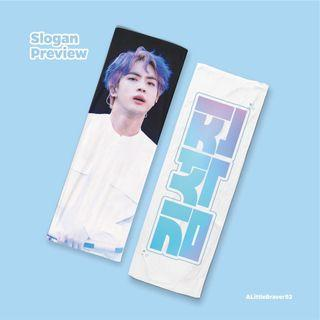 [Preorder] BTS Jin SYS the final cheering kit [white ver] by A Little Braver