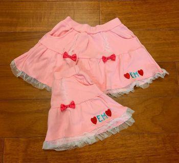 純棉蕾絲下擺短裙(5、9合售)