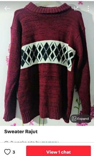 Reprice sale sweater