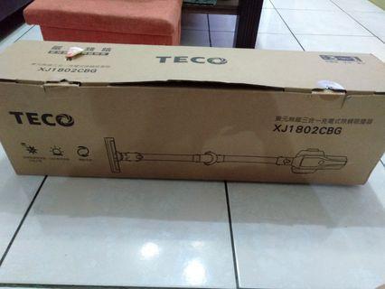 東元無線三合一充電式除蹣吸塵器 XJ1802CBG