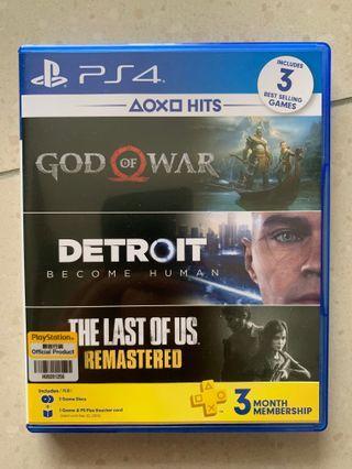 God of War & Detroit