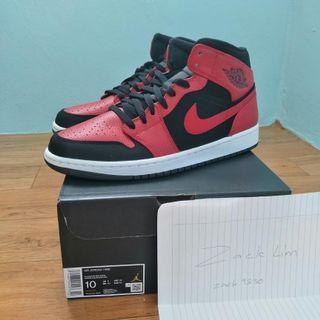 "Air Jordan 1 Mid ""bred"""