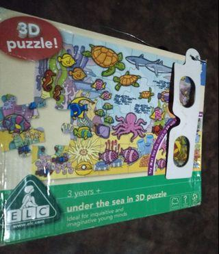 Puzzle ELC Under The Sea 3D