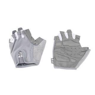 """Women's UA Resistor Training Gloves"" Under Armour UA 全新 灰色 手套 半指手套 露指手套 重訓手套 健身手套 1292066"