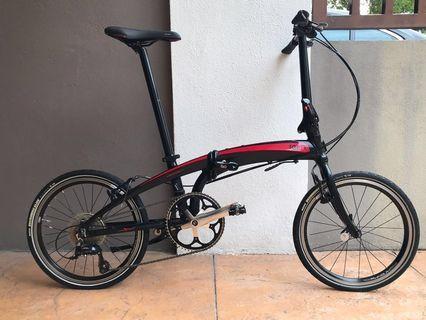 Tern Verge P9 folding bike like new Rare unit