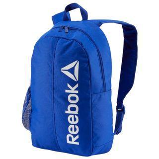 """ACTIVE CORE BACKPACK "" Reebok 全新 藍色 黑色內襯 運動 休閒 背包 後背包 肩背包 運動背包 書包 DU2881"