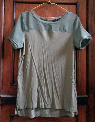 H&M blouse sz M #bapau