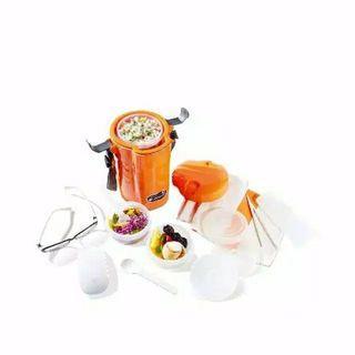 KONDISI BARU!! Lunch box rantang makan kotak makan susun set