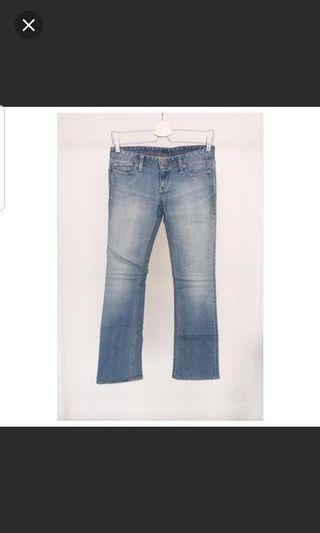 Levis boot cut jeans