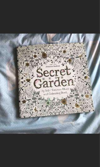 秘密花園著色本