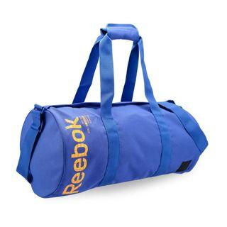 """Reebok Training Core Style Found U Cylinder Bag"" Reebok 全新 黑色 行李袋 旅行袋 肩背包 運動包 健身包 訓練包 裝備袋 圓筒包 DU2715"