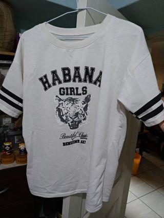 白色短T恤 上衣