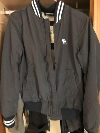 AF 棒球外套 深藍色 size M  麋鹿海鷗可參考