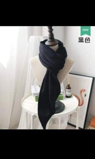 韓版秋冬圍巾-懶人款