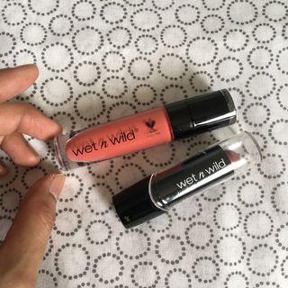 Matte  & lipstick wet n wild 💯Authentic