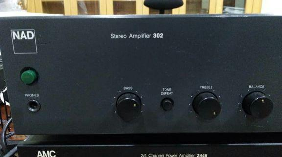 NAD 302 Stereo Integrated Amplifier