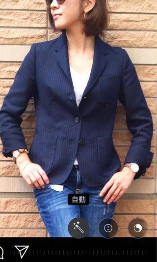 Uniqlo X INES DE LA FRESSANGE 合作款西裝外套