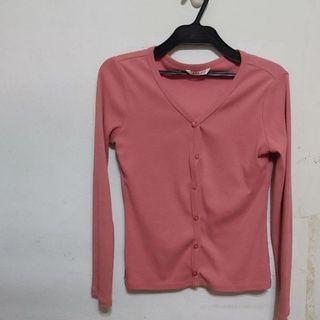 抗UV粉色外套