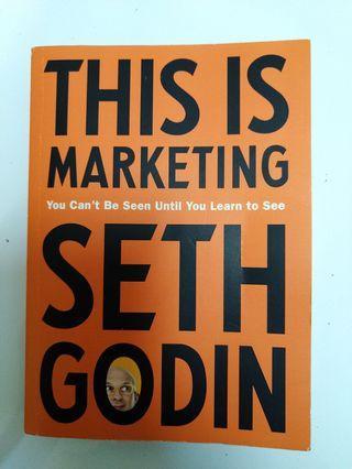 This is Marketing - Seth Godin [INTERNATIONAL EDITION] (近新)