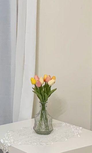 鬱金香擺飾 仿真花