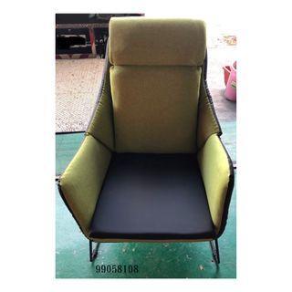 【弘旺二手家具生活館】全新/庫存 草綠單人椅 水鑽沙發 沙發床 貓抓皮沙發 木製沙發 -各式新舊/二手家具 生活家電買賣