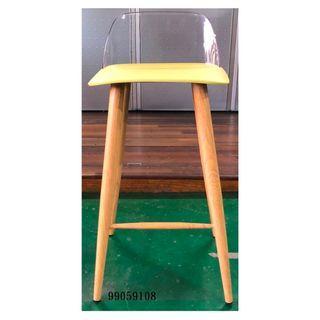 【弘旺二手家具生活館】全新/庫存 草綠色吧檯椅 華麗餐椅 摩登椅 木製餐椅 貝勒椅 -各式新舊/二手家具 生活家電買賣