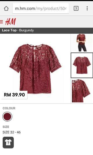 Lace blouse #Fashion20