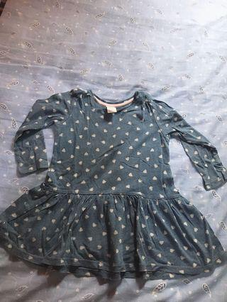 Dress HnM anak