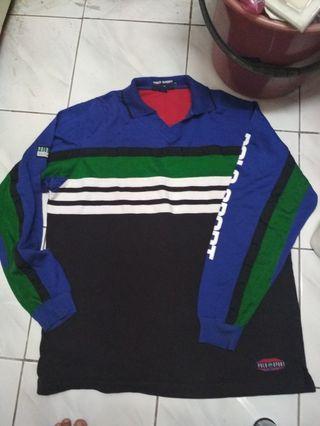 Vintage polo sport ralph lauren rugby collar t-shirt
