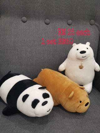 We Bare Bears plush toy