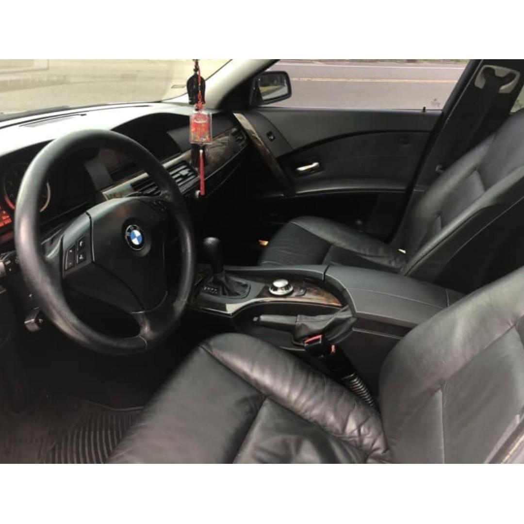 2004年 BMW 525i 日規 2.5 天窗 車在桃園