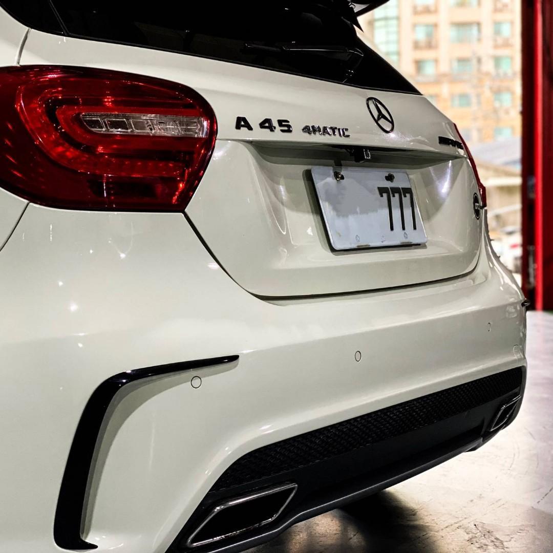 2015年 Benz A45 AMG 總代理 2.0 最強小鋼炮 市面少 這價錢你找不到第二台