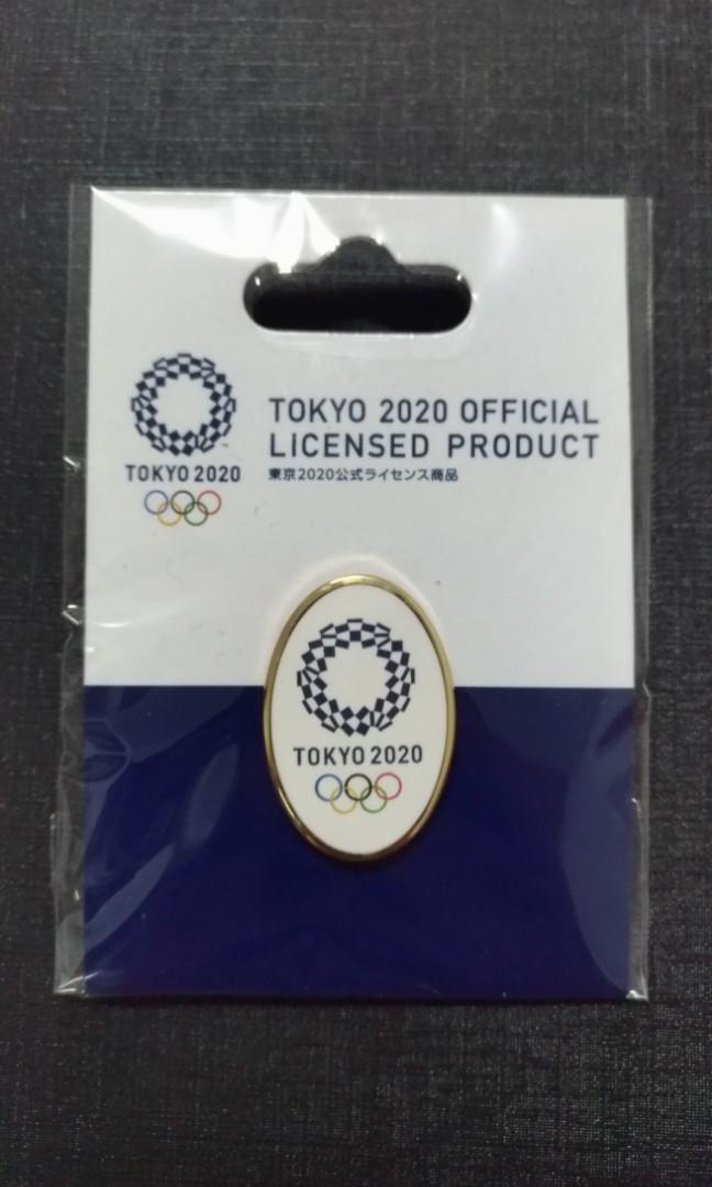 [奧運]日本2020東京奧運紀念胸章