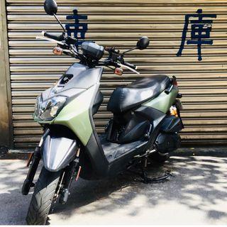 【寄賣】2016年山葉BWSR液晶版125CC噴射版(軍綠)