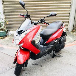 【寄賣】2016年山葉SMAX 155CC噴射版(紅)