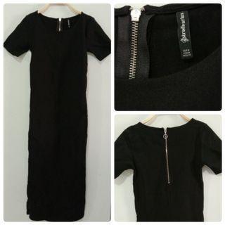 Stradivarius black dress | party dress | night dress | black dress |Dress Hitam | bodycon dress | dress ketat