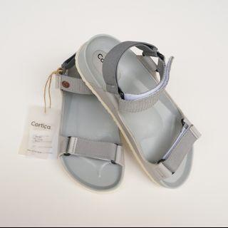 [NEW] SANDAL CORTICA QUARRY | Grey | Insole 25cm | Sepatu Sendal Casual Wanita