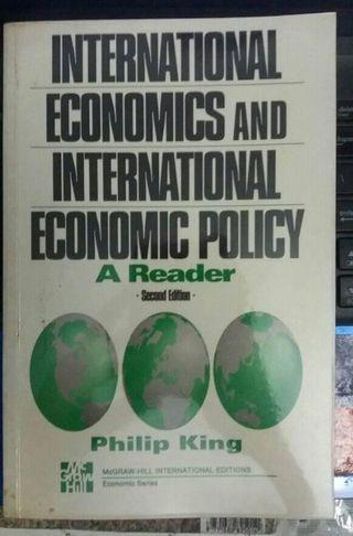 International Economics and International Economic Policy:A Reader