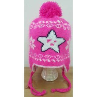 二手幼兒飛行造型毛帽/針織帽/毛線帽